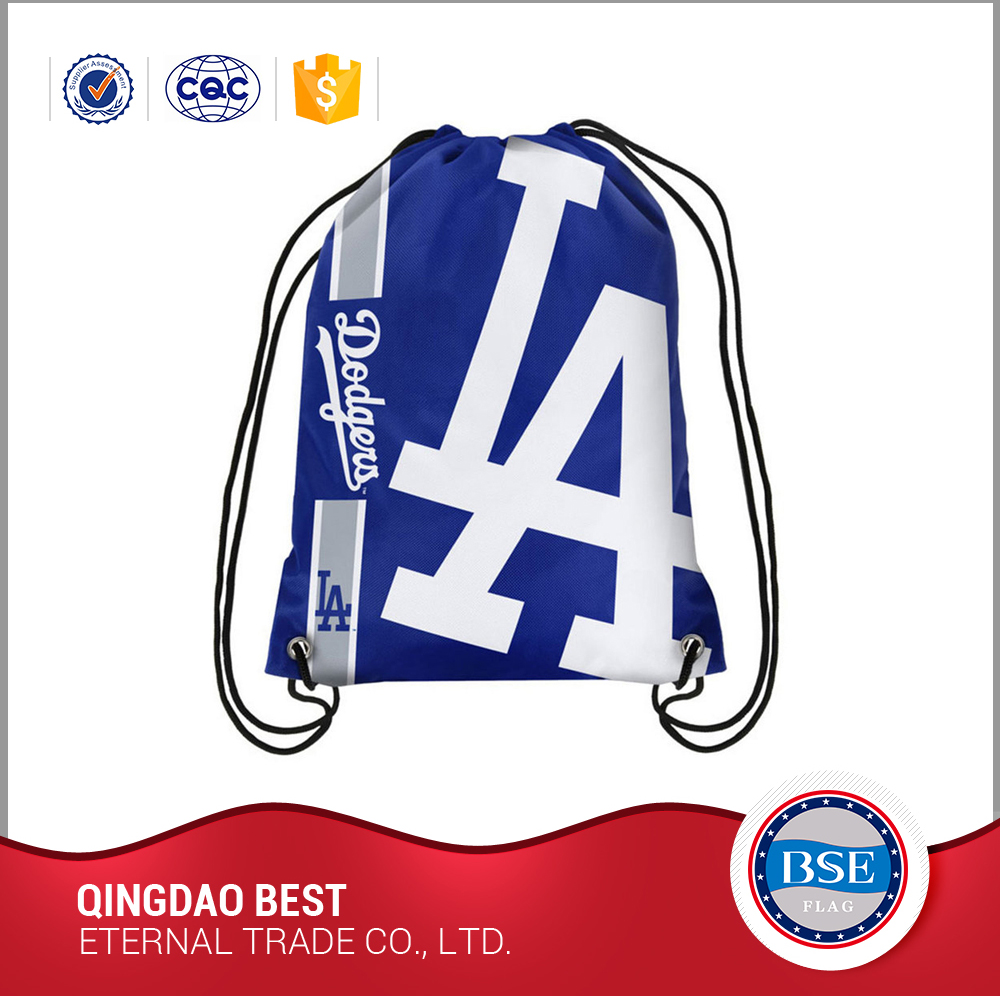 Personized cheap sport cute drawstring backpack bags