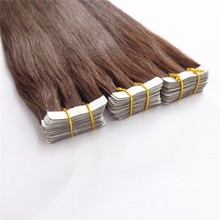 Top Quality Healthy Wholesale Hair Double Drawn Skin Weft 100% European Remy human hair tape hair extension