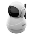 Little snowman 1080P WIFI Pan Tile IP camera with support TF card function max up to 128G