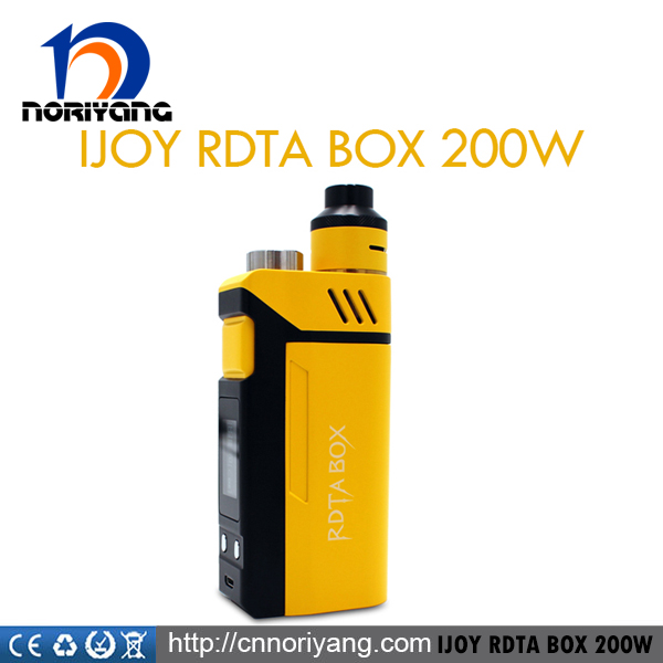 Authentic Ijoy Rdta Box 200W E Cig Vaping Box Mod