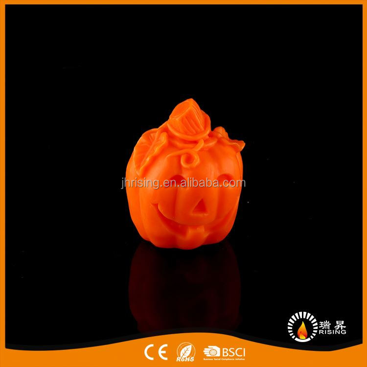 Top grade functional flashing led pumpkin waterproof candle led candles party decoration