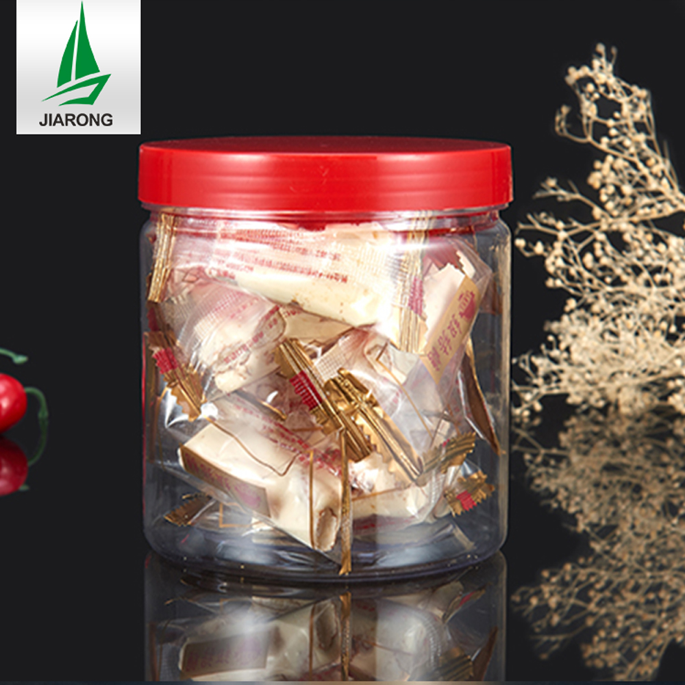 Hot Sale Food Grade PET Plastic Jar Empty Bottle Tomato Can With Screw Cap