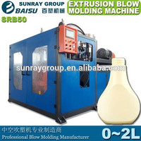automatic bottle extrusion blow molding machine,double station