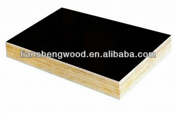 Liansheng film faced plywood board plywood picture frame used exterior doors for sale