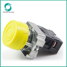 XB2-BP series, electrical circuits various colors plastic momentary NO turn-reset waterproof push button switch with a cover