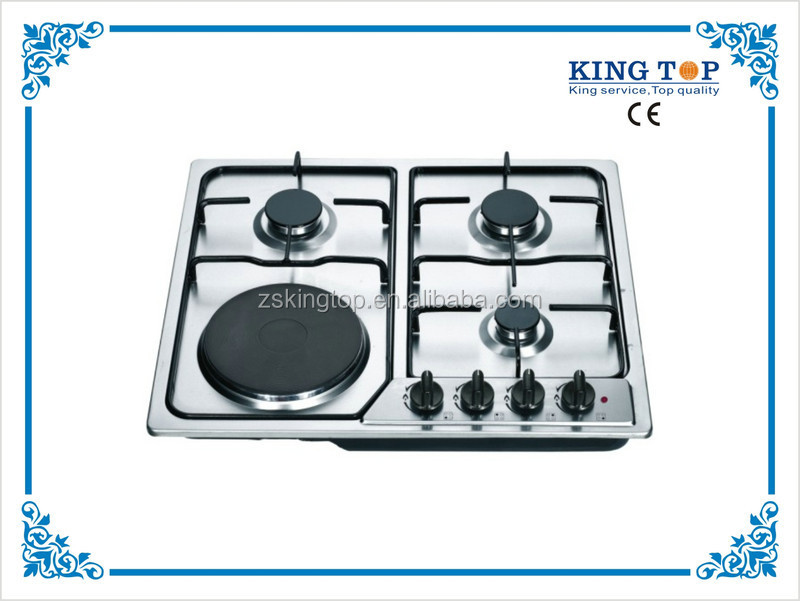 SST Panel Gas Hob/Gas Stove/Gas Cooker stainless steel cast iron gas cooktop