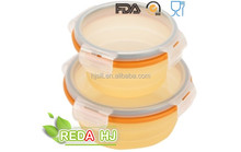 Microwave Safe eco friendly heat resistant Lunch Boxes Plastic Food Container