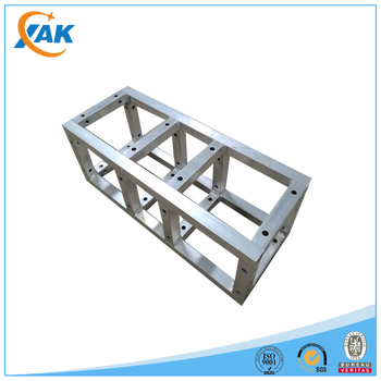 Outdoor aluminum alloy concert stage lighting truss connect with global truss