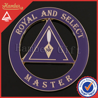 Pretty masonic car stickers