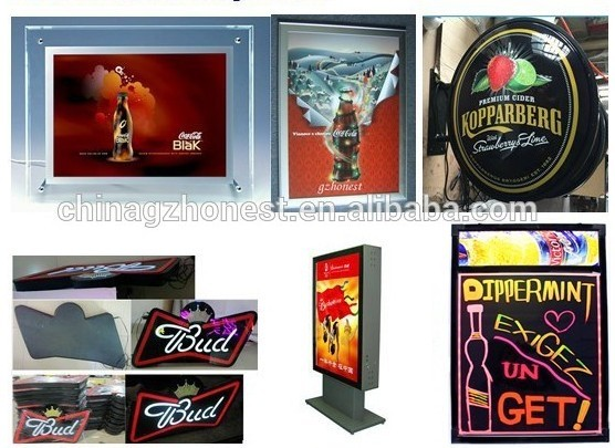 OEM Factory outstanding led promotion acrylic led signage led light box
