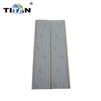 PVC Plastic Bathroom Wall Tile to Algeria 200*8MM 40%pvc