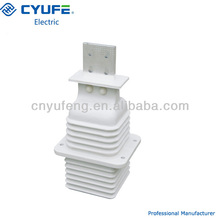 Insulator contact box for electrical equipment
