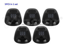 Stylish black smoked lens LED Roof Cab Running lights for Universal fits on most of 4x4 Off-Road SUV Crossover Jeep RV Pickup
