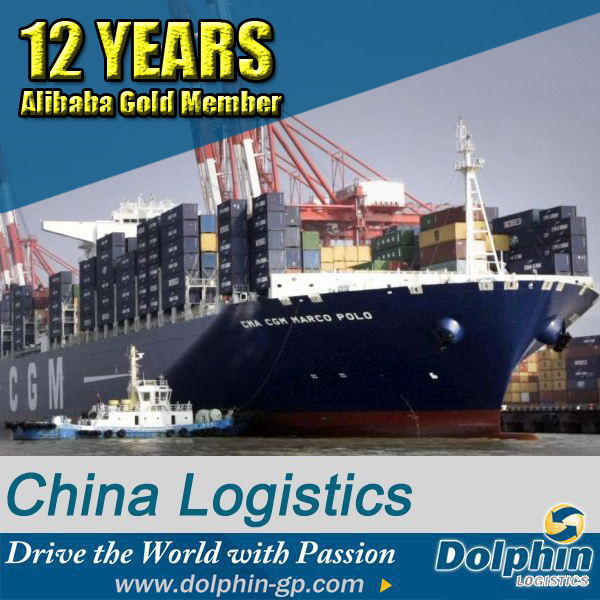 Professional international cargo ship from china to usa