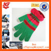 green and red, quality winter wholesale touch screen gloves