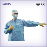 Surgeon gown with EN 13795