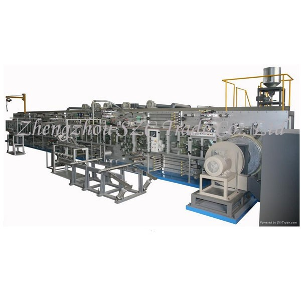 henan used baby diaper making machine price