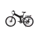 Ebike With Bicycle LED Computer Powerful Snow Electric Bike 7 Speed 10AH 36V 350W Electric Fat Tire Bike