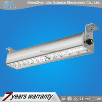 linear high bay light, wiring-through connection, Meanwell driver Lumileds LED with 7 years warranty