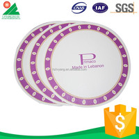 Round Custom Printed Disposable Paper Plate