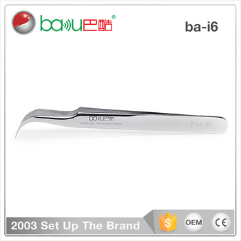 BAKU BK-i6 High-quality Precision Stainless Steel Polished esd Tweezers For Circuit Board