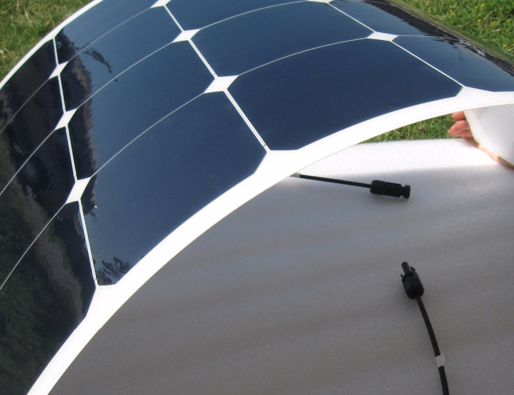 Sunsun Etfe Semi Flexible Solar Panel 100w With Cell 22