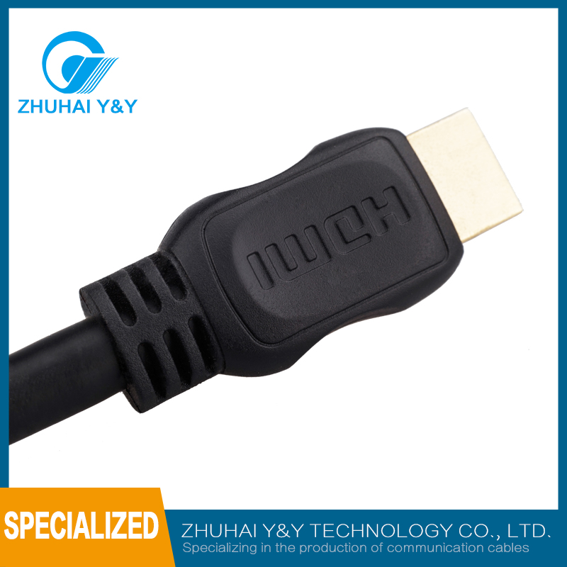 05AM6 hdmi line thin version of the 4K high-definition line computer TV cable 1 m 3 m hdmi cable