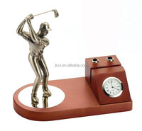 plan golf man clock