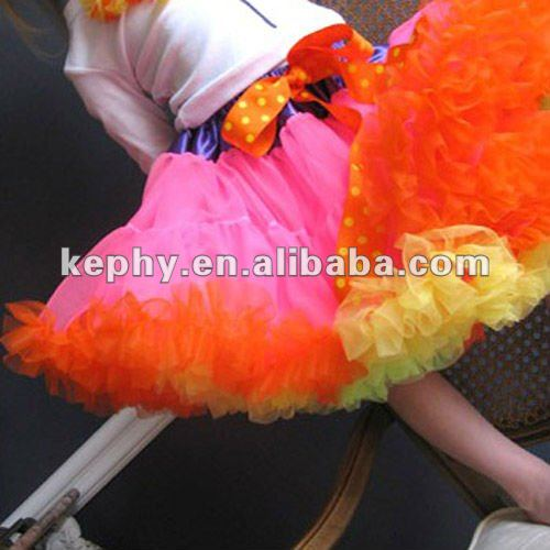 girls pettiskirts fluffly petticoat skirts