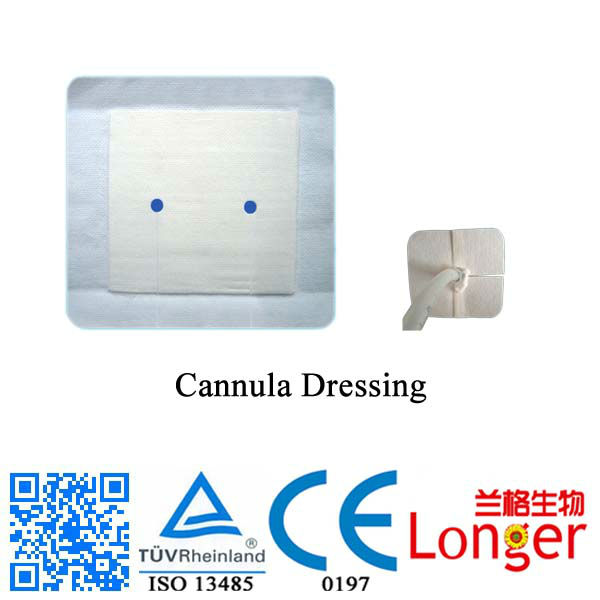 Breathable Medical Microl Cannula Dressing
