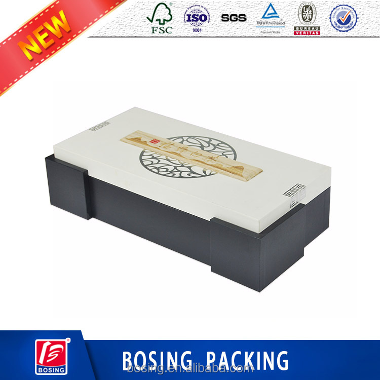 Custom high quality hardcover box food <strong>packing</strong> for tea set