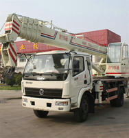 12 Ton Light Duty Rough Terrian Crane,12 Ton Escort Crane