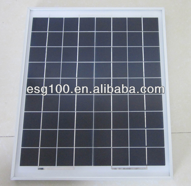 5W Polysilicon Portable Solar cell 156*156