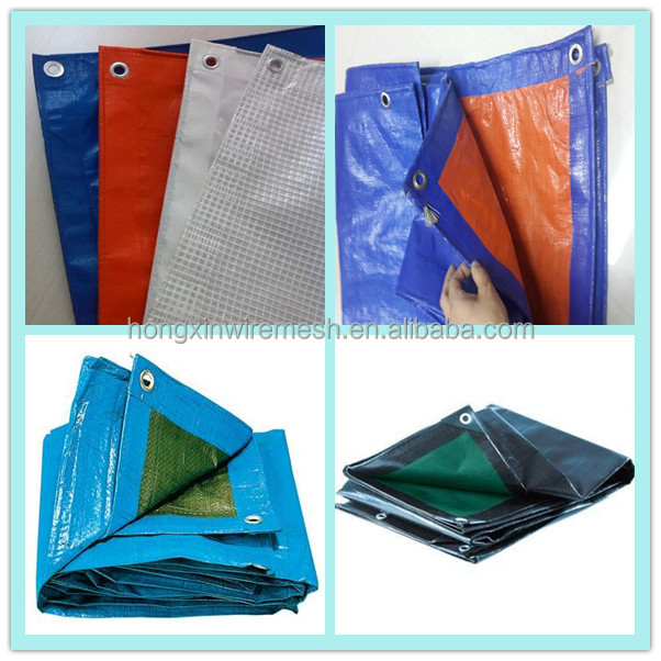 Stripe Tarpaulin Blue Polyethylene PE,blue/white covering pp tarpaulin,plastic canvas