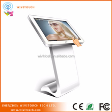 "32"" U-disk/SD/CF card supported floor standing stand-alone LED display screen"