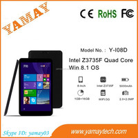 alibaba in russian cheapest 8 inch Quad Core IPS Intel 1GB 64GB Tablet Win8.1 Tablet Pc