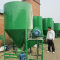 animal feed crusher and mixer machine, fodder crusher machine, poultry feed mixing machine