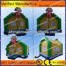 various color and style happy sheep inflatable castle