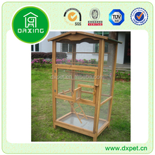 Large Outdoor Wooden Bird Aviary Animal Cage