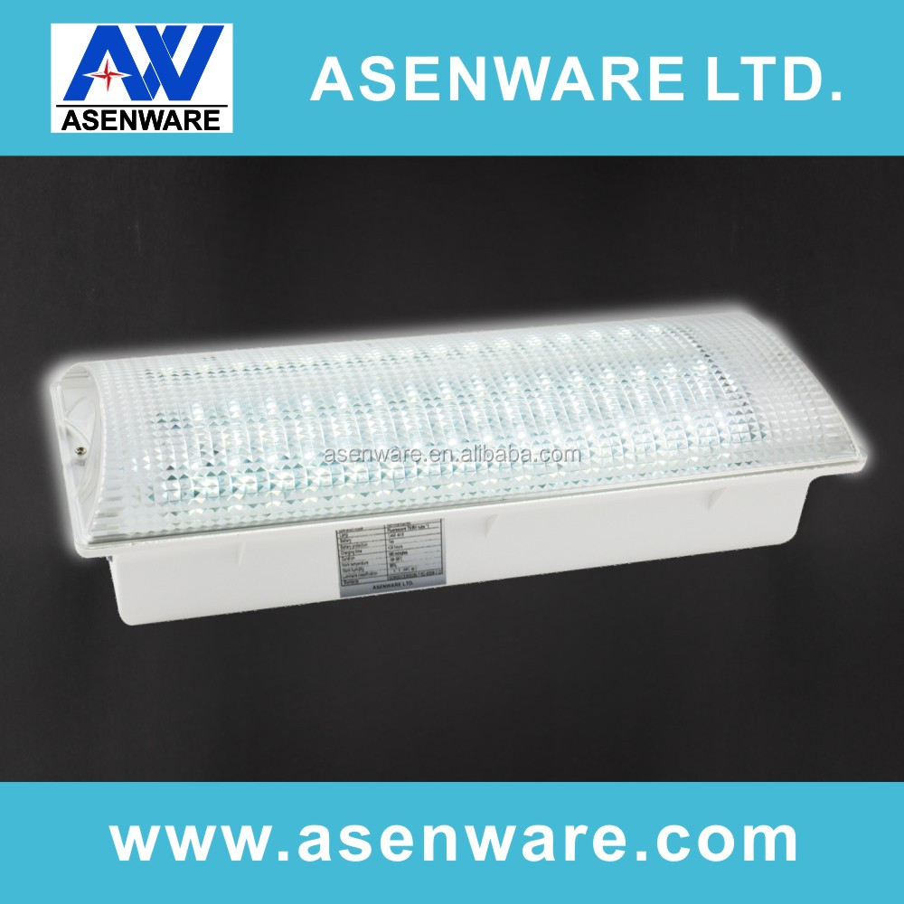 24V ABS+PP housing rechargeable led emergency light