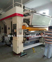 Ruian Plastic film High Speed Computerized Color Register Rotogravure Printing Machine