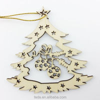 Supply plywood christmas decorations made in china