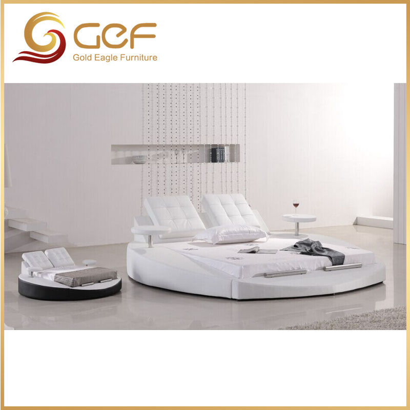 European home use white bed set furniture - 2017