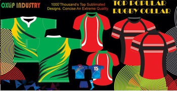 Custom rugby uniform sublimation Rugby Jerseys