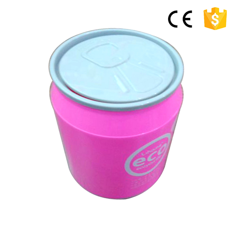 High quality pp colorful simple hot sale car mounted plastic trash can household cleaning accessories small trash can trash can