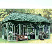 Home House Wrought Iron Metal Gazebo Pavilion for Decoration