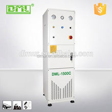 Central dust collection dry grinding system for clamps for woodworking