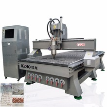 good price 1325 multi spindle atc woodworking cnc router / cnc wood carving machine for mdf , furniture , door in stock