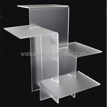 New style Acrylic shoe display stand for supermarket acrylic shoe display stand for shopping mall