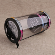 Wholesale clear plastic cylinder box transparent display pvc box